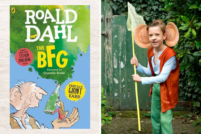 10 classic Book Week Costumes, The BFG | Mum's Grapevine