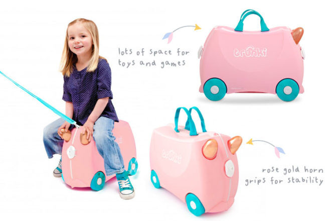 Summer Holiday Accessories: Trunki flossi suitcase