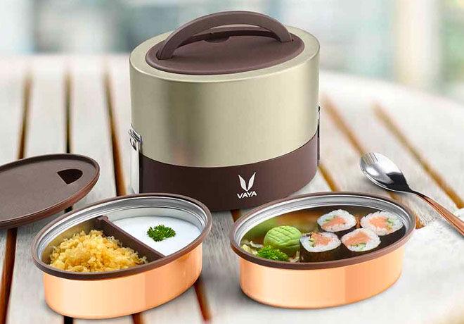 The Tyffn lunchbox by Vaya