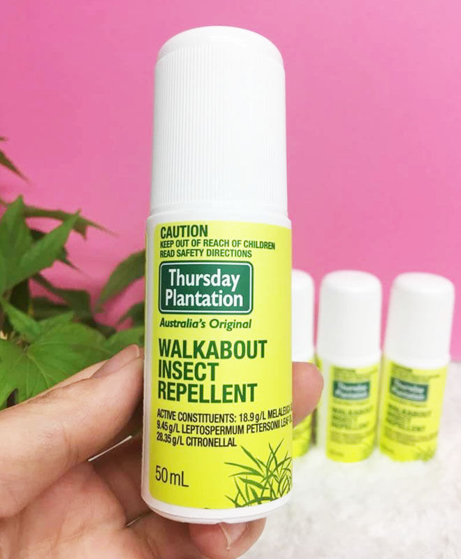 Walkabout insect repellent roll-on