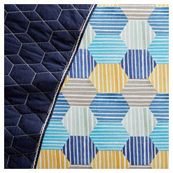 West Elm and Pottery Barn Kids striped cot sheet