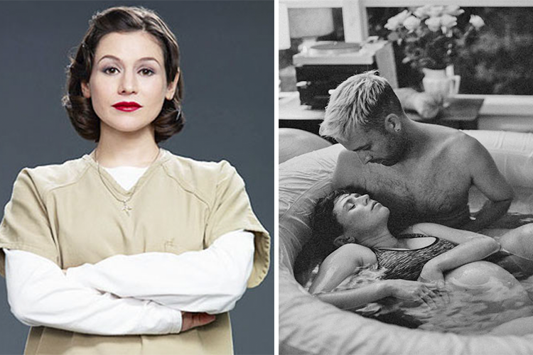 Yael Stone OITNB birth emergency