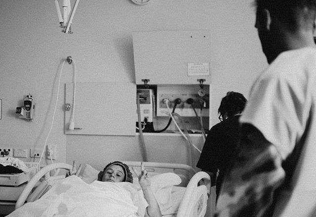 Yael Stone emergency c-section