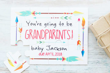 You're going to be a grandparent jigsaw puzzle