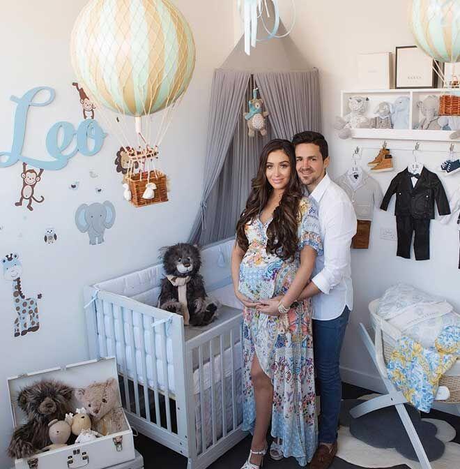 Zana Pali baby boy nursery