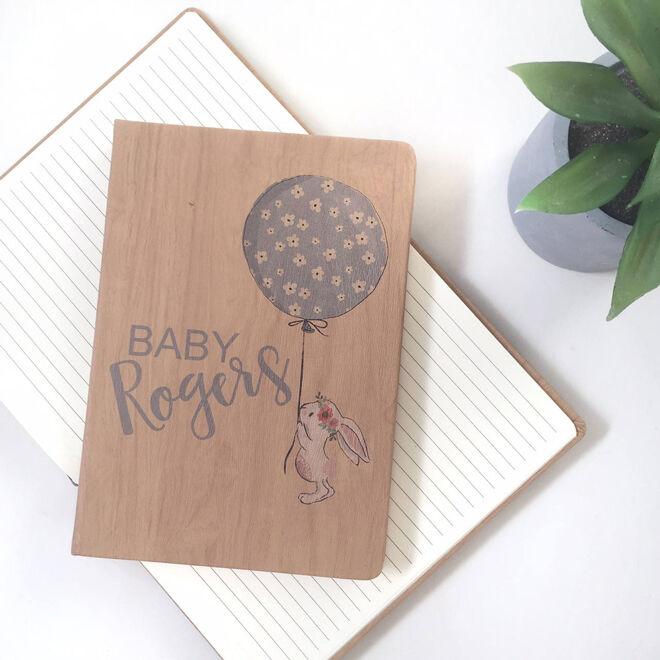 anrol designs personalised pregnancy notebook