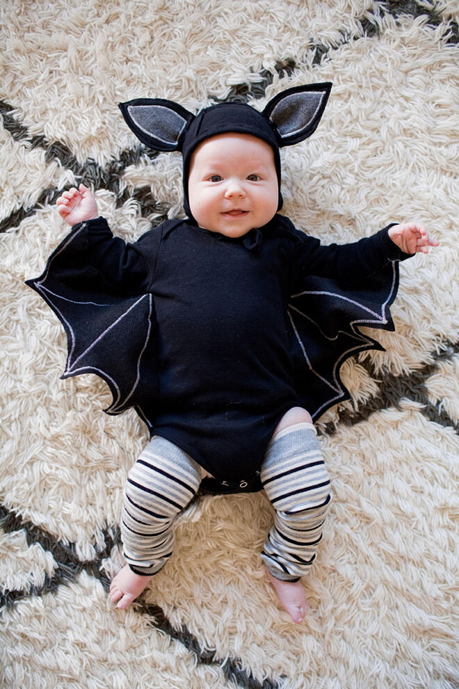 baby bat halloween costume