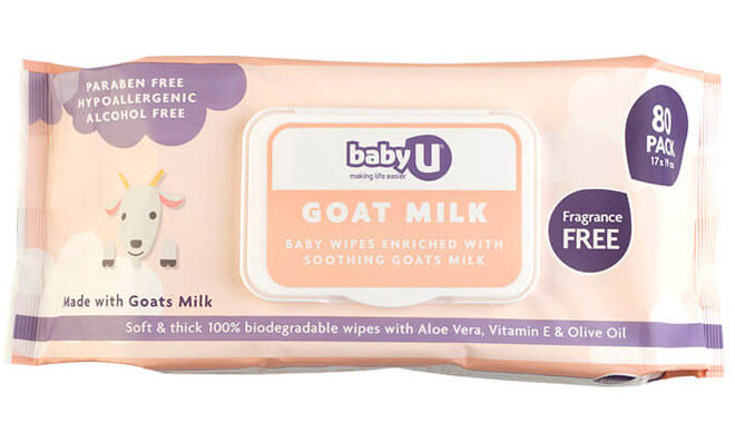 Baby U Goat Milk Wipes