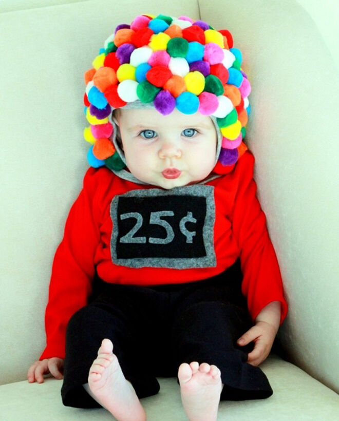 halloween baby gumball machine