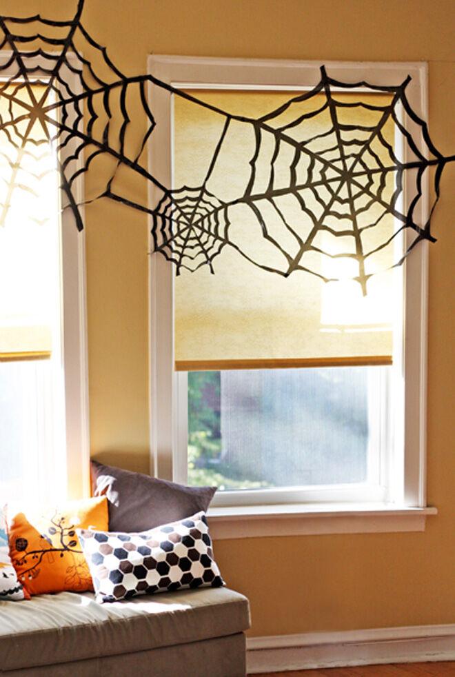 easy halloween decoration web