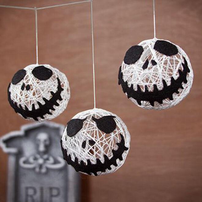 jack skellington garland halloween decoration