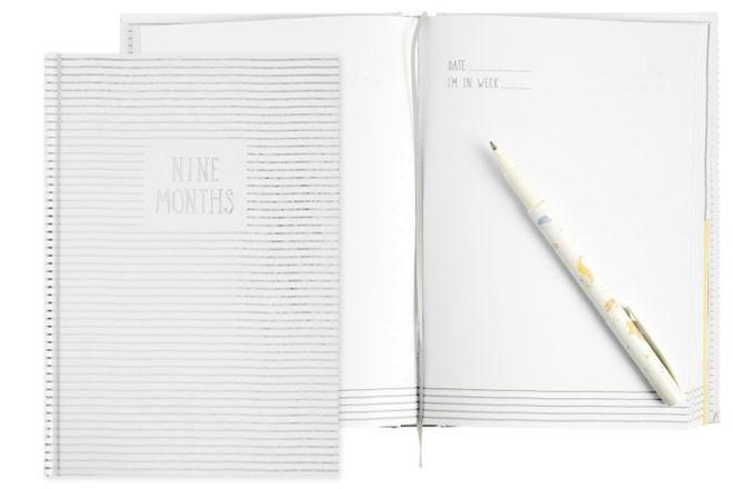 kikki-k 9 month pregnancy journal
