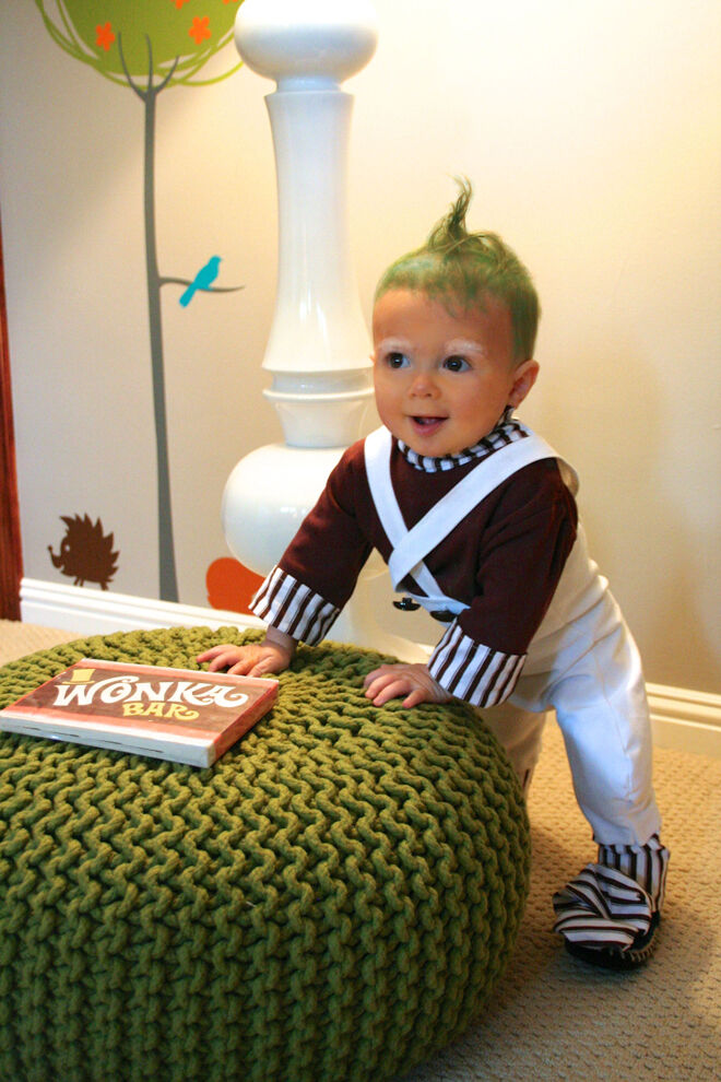 Halloween oompa loompa costume