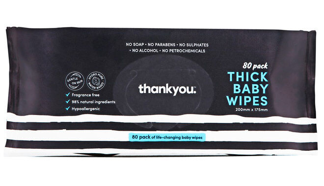 thank you baby wipes review