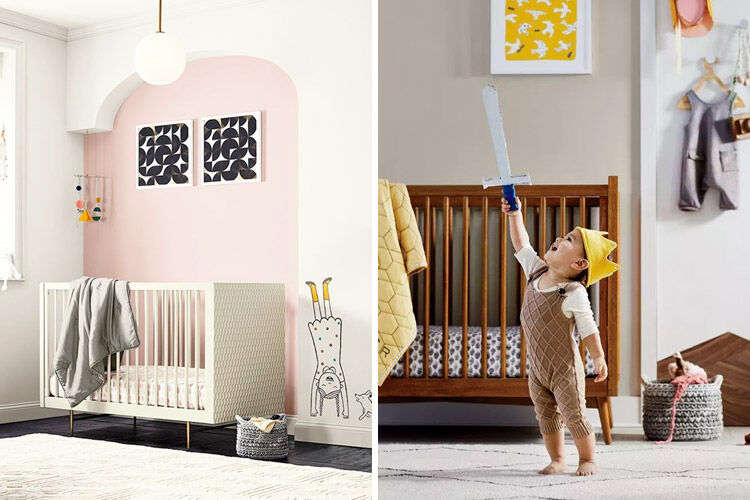 west elm x pottery barn kids collaboration nursery furniture