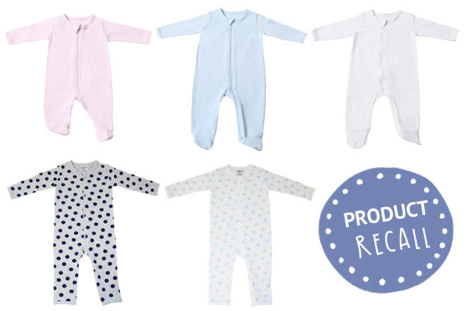 Product Recall Coveralls Sold In Baby Bunting Mum S Grapevine