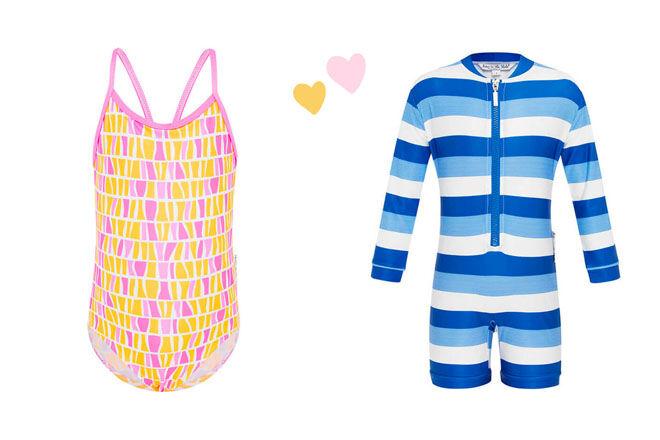 Babes in the Shade kids swimwear