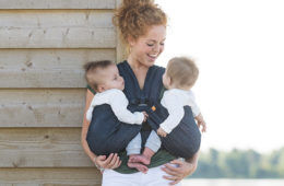 Everything you need to know about babywearing twins | Mum's Grapevine