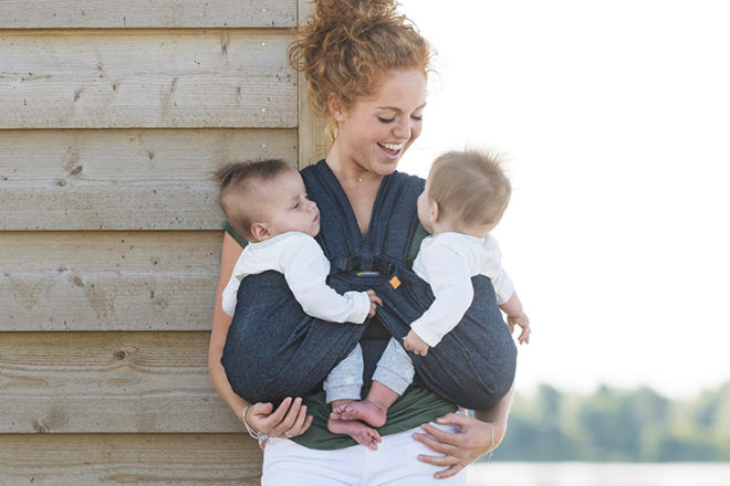 Everything you need to know about babywearing twins   Mum's Grapevine
