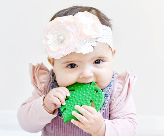 Baeb Monstera leaf teether