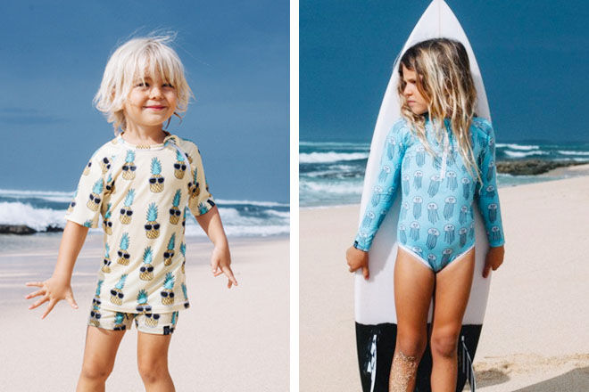 Beach & Bandits kids swimwear