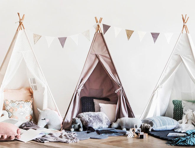 Catty Wampus teepees