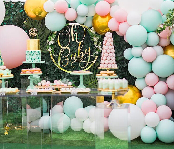 Cost of baby showers