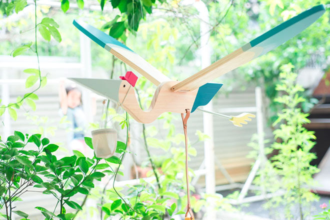 Eguchi Toys mobile bird