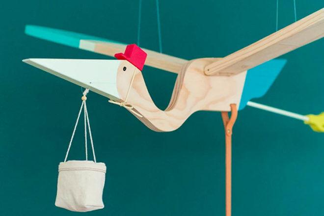 Eguchi Toys mobile pelican