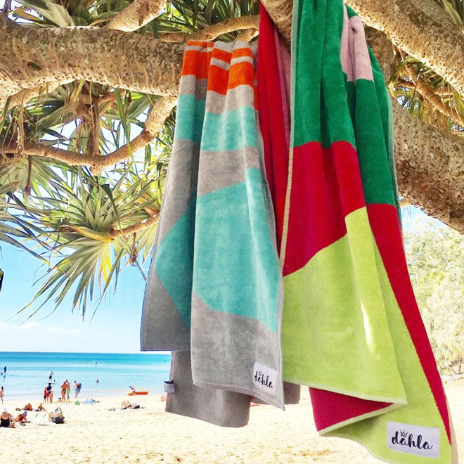 Dhala beach towels