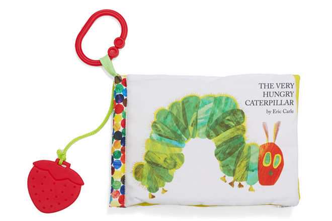 Hungry Caterpillar cloth book