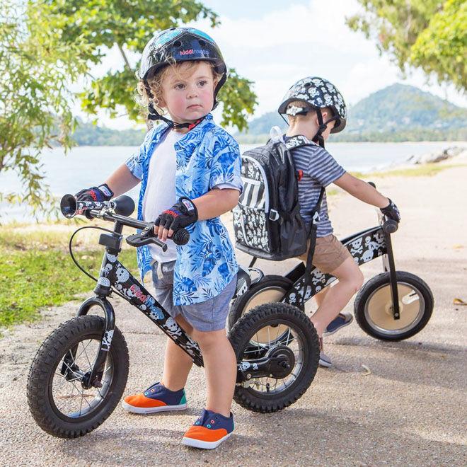 Kiddimoto helmets for kids
