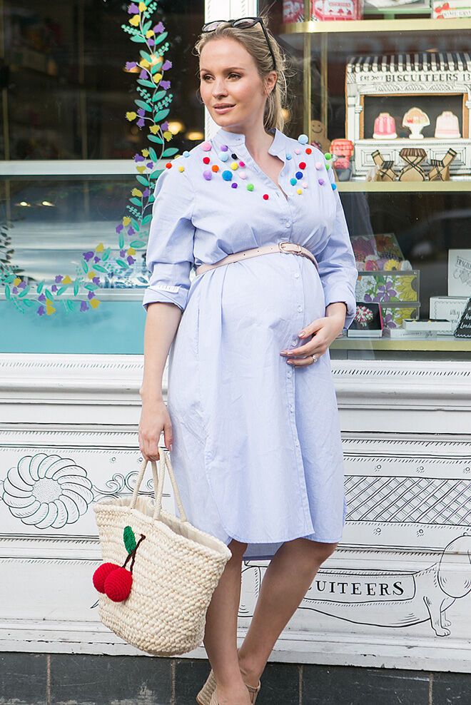 Turn your clothes into a maternity wardrobe