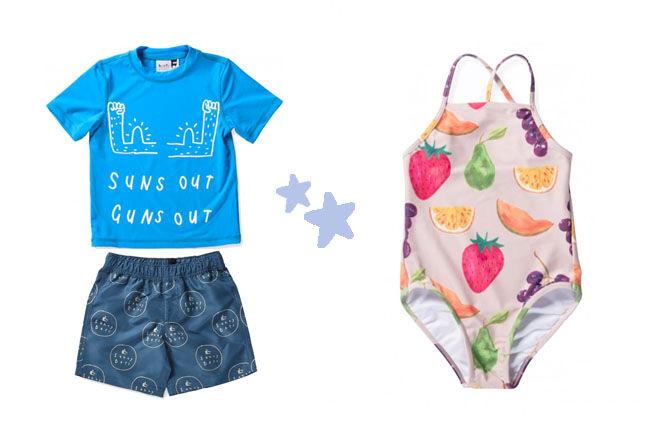 Minti swimwear for kids