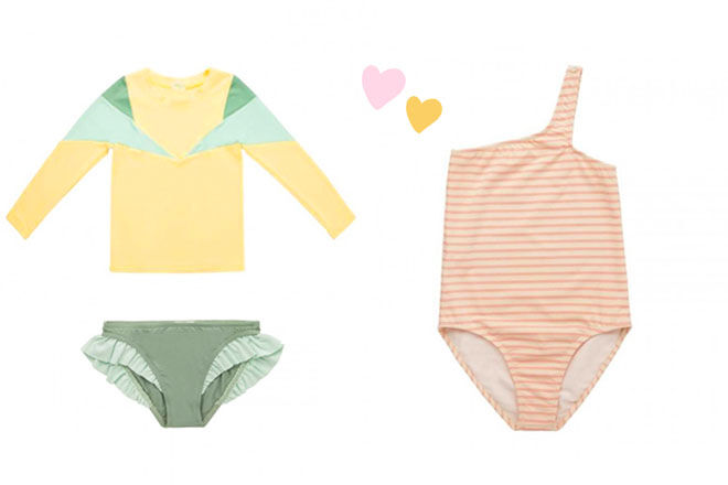 Pacific Rainbow kids swimwear