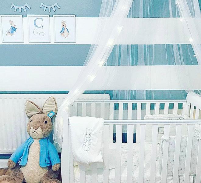 Peter Rabbit nursery theme
