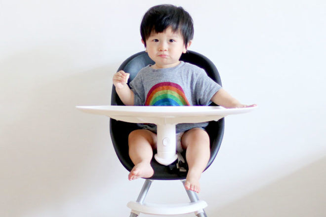 Win a high chair from phil&teds