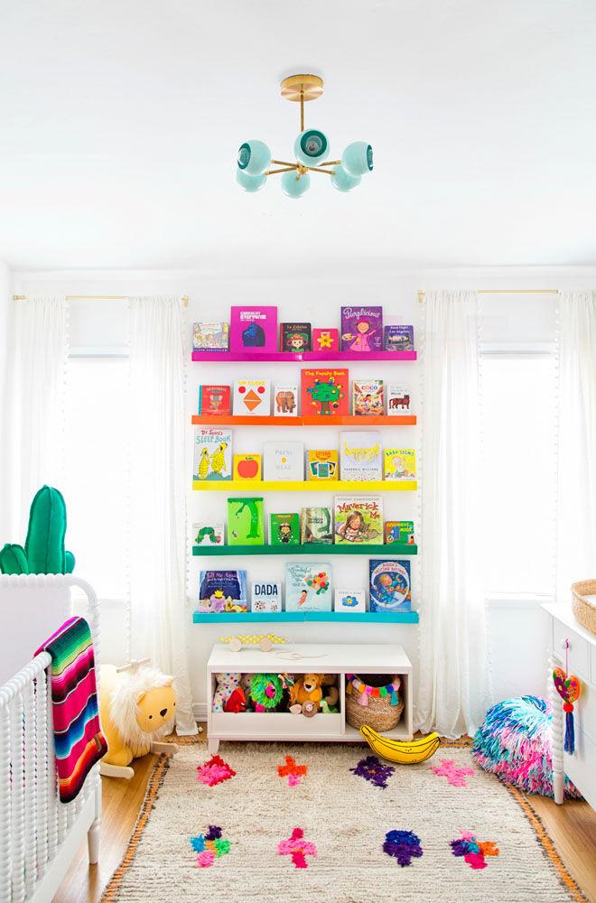 Rainbow nursery theme