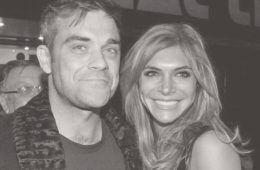 Robbie Williams Ayda Field baby number three