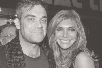 Robbie Williams Ayda Field baby number three