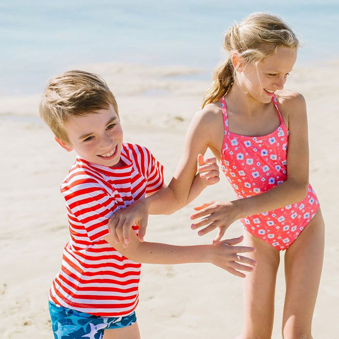 Sandy Feet kids swimwear