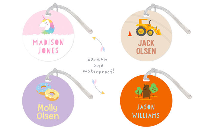 Personalised bag tags, Stuck On You