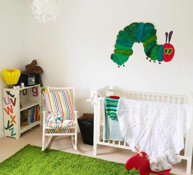 Very Hungry Caterpillar nursery theme