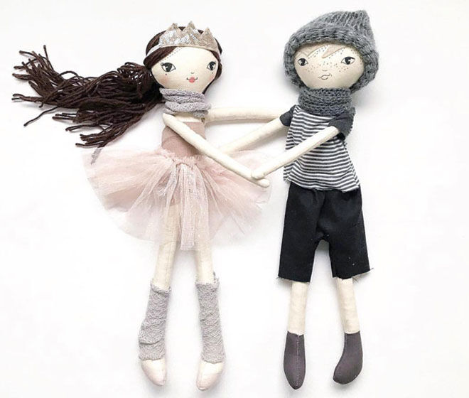 These Little Treasures, Lenny & Lola Dolls