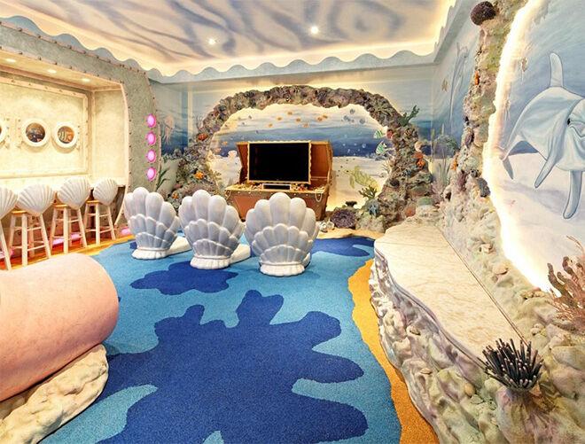 Under the sea children's bedroom