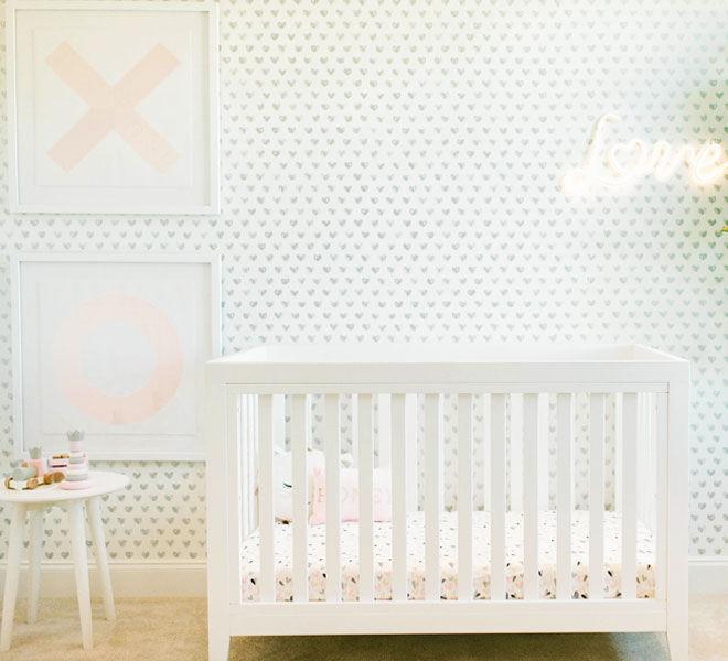 XO nursery theme