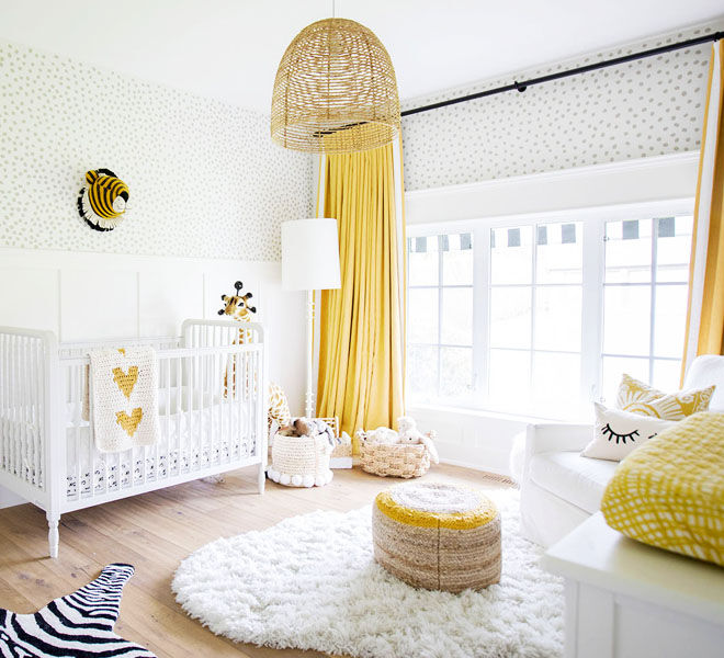 Yellow nursery theme