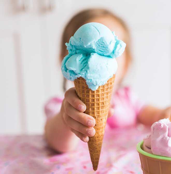 Ice cream playdough you can eat