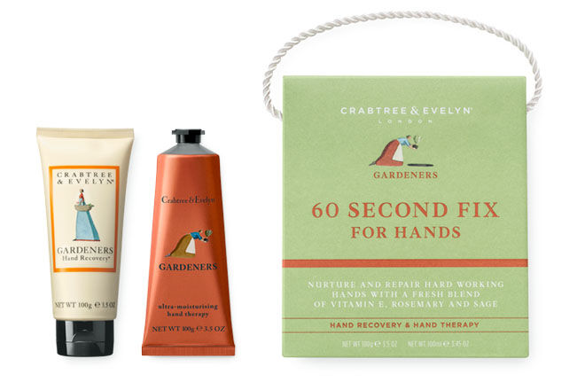 60 second fix, Crabtree & Evelyn