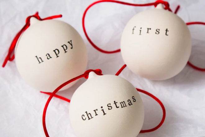 Adorable baby's first Christmas tree decorations   Mum's Grapevine